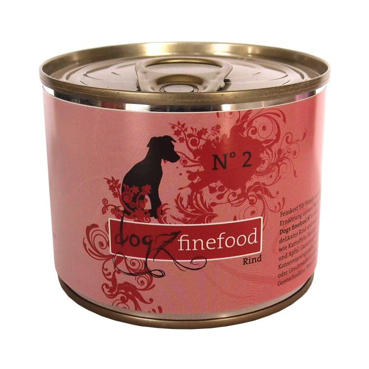 Dogz Finefood Rind 200g