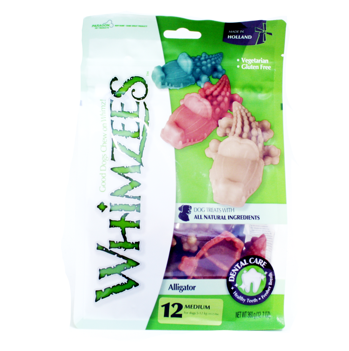 Whimzees Alligator Dog Chews