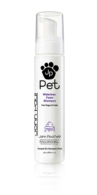 John Paul Pet Waterless Foam Shampoo