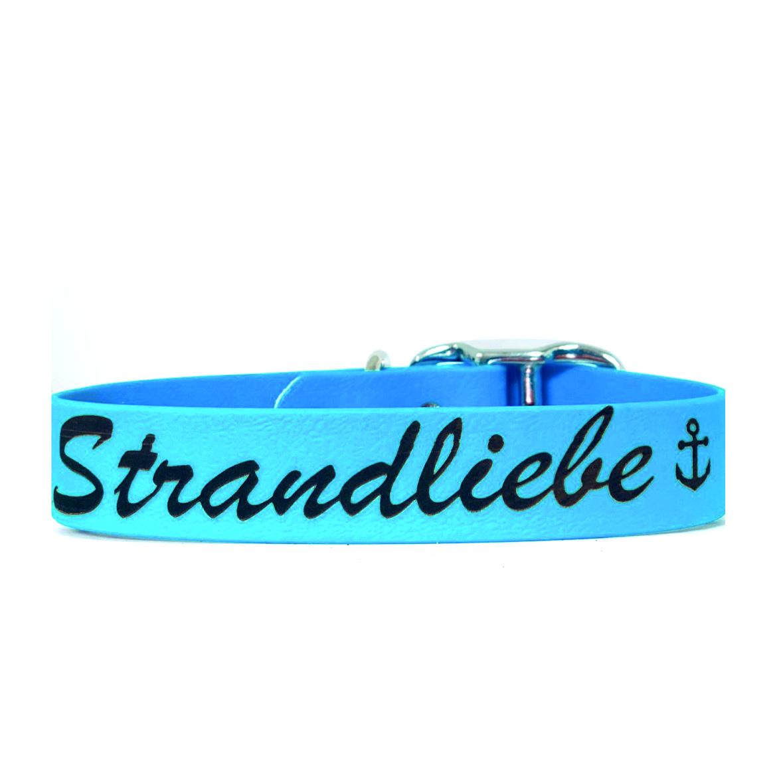 "Halsband BIOTHANE ""Strandliebe"""