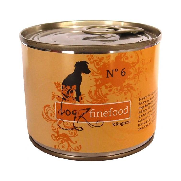 Dogz Finefood Känguru 200gr