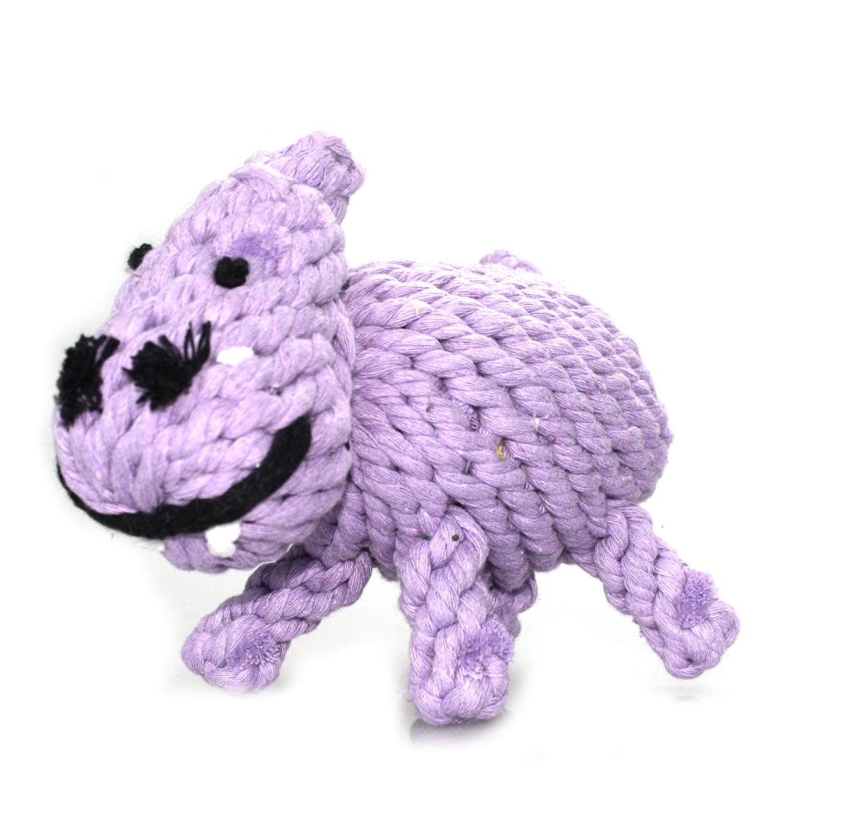 Hundespielzeug Nilpferd