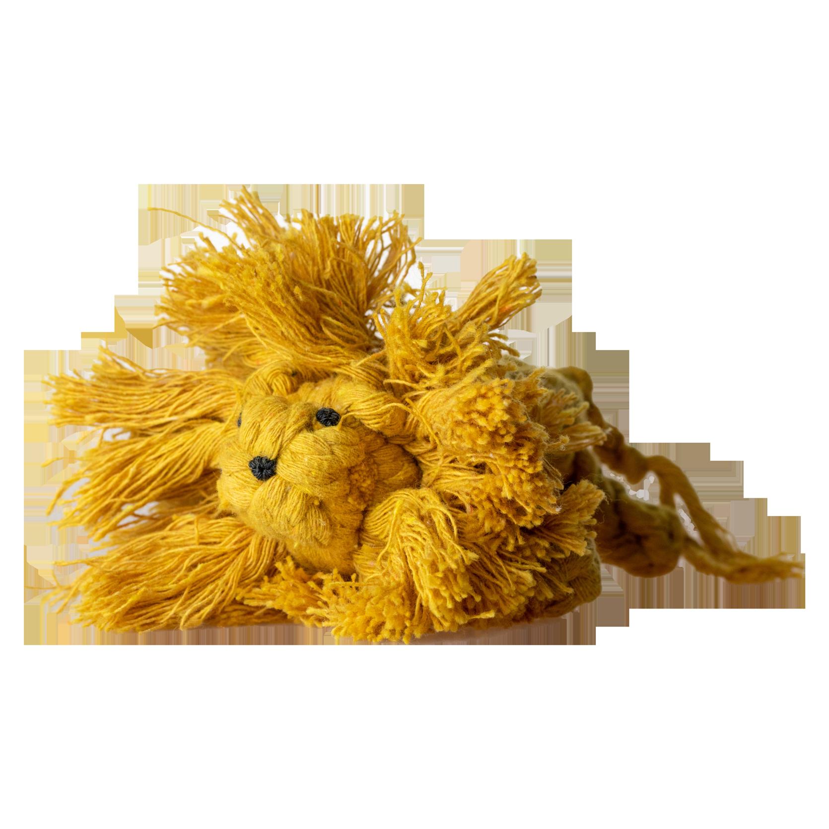 Hundespielzeug Löwe