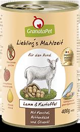 Liebling´s Mahlzeit Lamm & Kartoffel