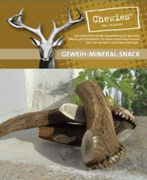 Chewies Geweih-Mineral-Snack M