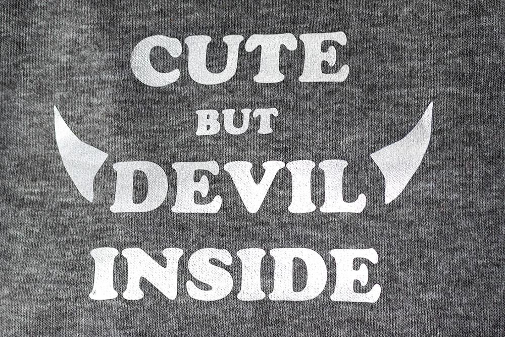 Hoodie Cute but Devil inside