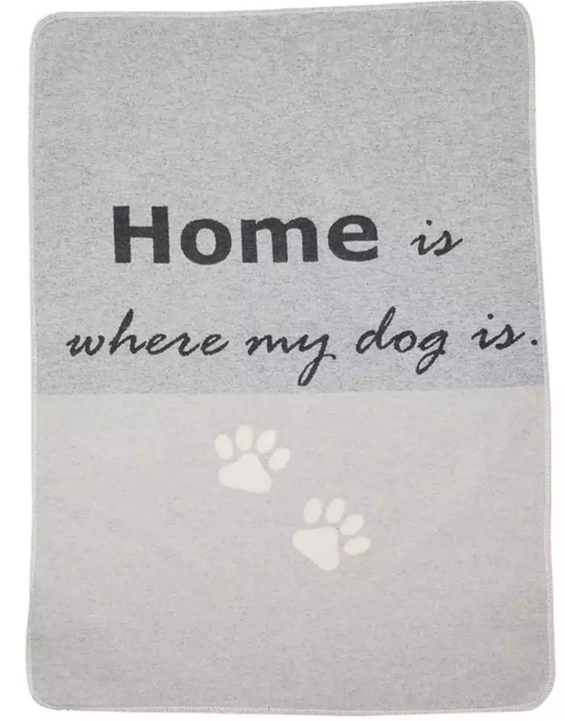 Hundedecke Home is where my dog is
