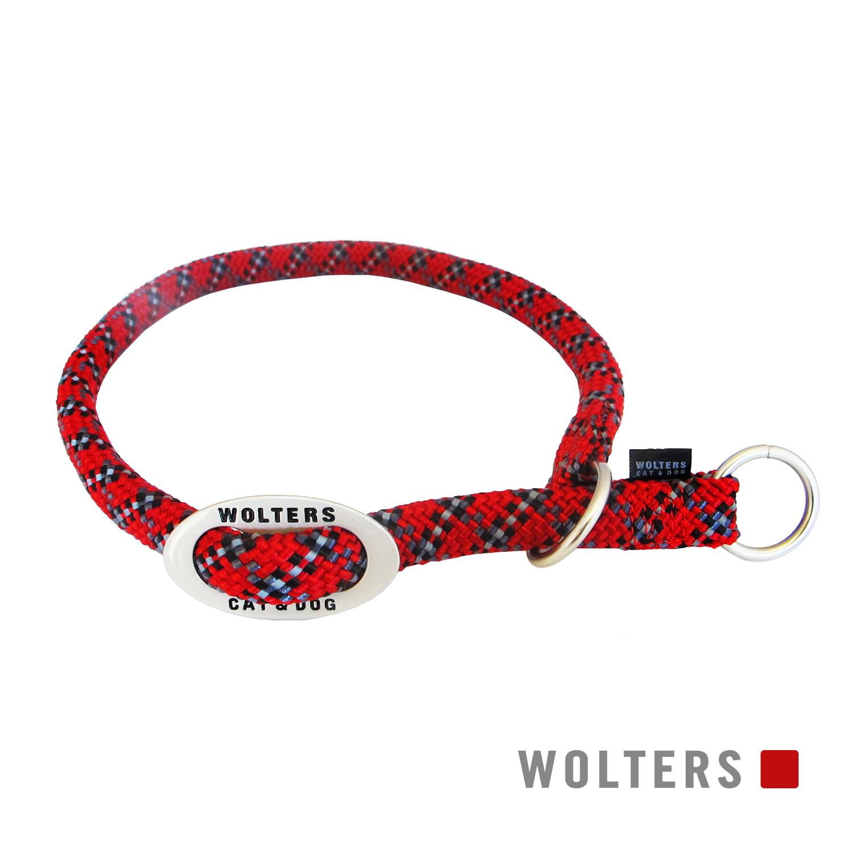 Wolters Schlupfhalsband Everest reflektierend rot schwarz