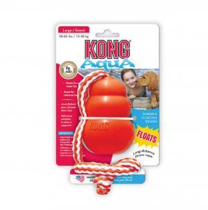 Original Kong Aqua mit Wurfseil