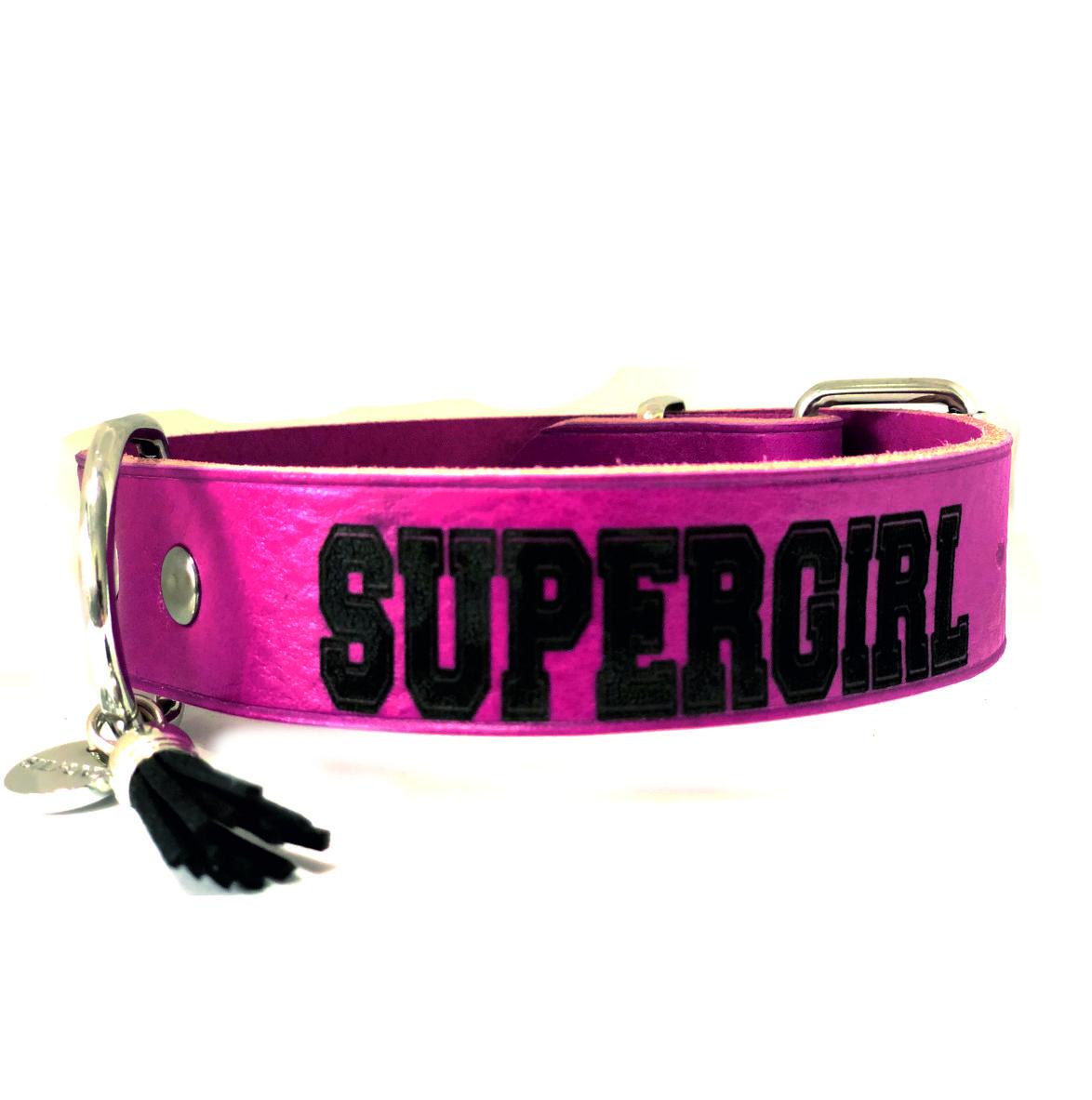 Hundehalsband SUPERGIRL